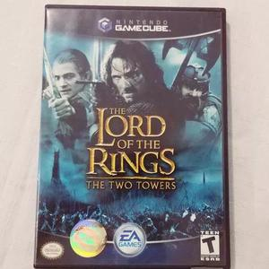 Jogo lord of the rings two towers gamecube original