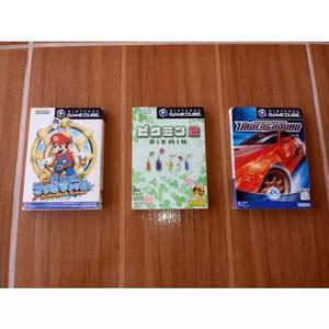 Jogos Game Cube Japones Original!! Nostalgia!!