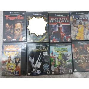 Kit jogos game cube 8 unidades muito conservados