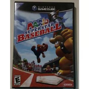 Mario superstar baseball game cube