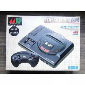 Mega drive 1 original com caixa japonês (leia)