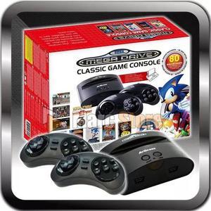 Mega drive classic genesis sonic 25th 80 jogos original novo