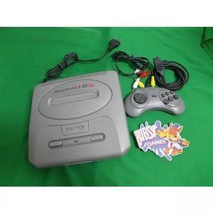Mega drive com 60 jogos e 1 controle