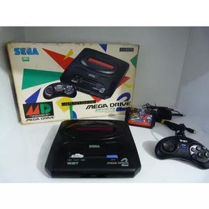 Mega drive ii original japonês na caixa + 1 jogo