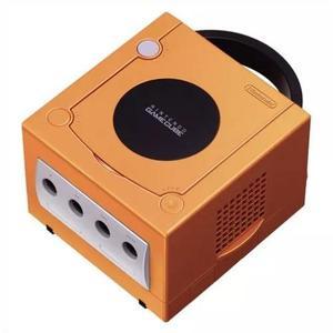 Nintendo console gamecube - spice laranja (importação japo
