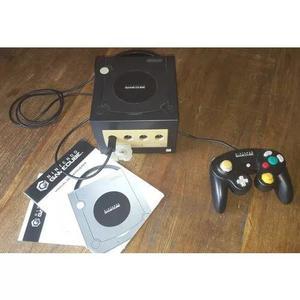 Nintendo game cube + controle original + cartucho m