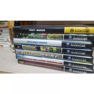Nintendo game cube lote 13 jogos