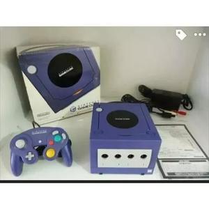 Nintendo game cube na caixa completo c serial batendo