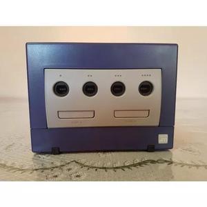 Nintendo game cube índigo + controle + m