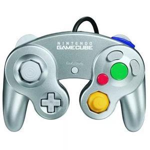 O controle do gamecube platinum