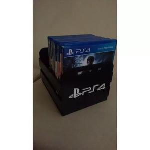 Porta jogos, case p/ games ps4 xbox nintendo