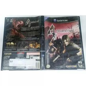 Resident evil 4 americano game cube usado