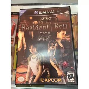 Resident evil zero game cube nintendo wii