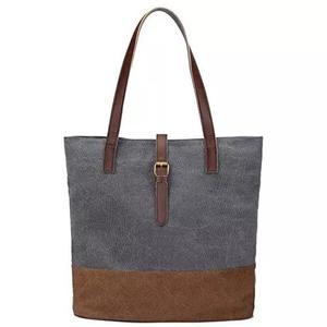 S - zone mulheres s lona saco leve ombro saco senhoras bolsa