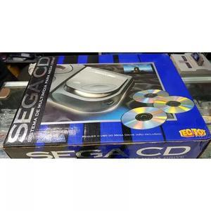 Sega cd, completo na caixa, manual, badeija, fonte originais