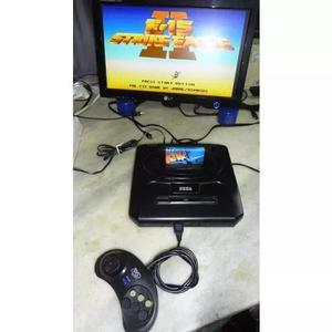 Sega genesis + caixa de brinde