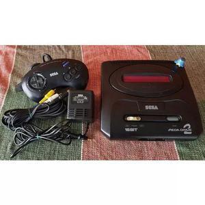 Sega mega drive 2 - console japonês - funcionando 100%! a2