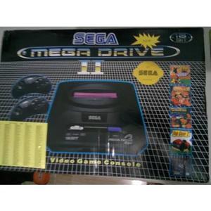 Sega mega drive 2 réplica leitor de cartuchos/jogos