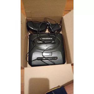 Sega mega drive 3 tec toy déc. 90 c/ controle original 6