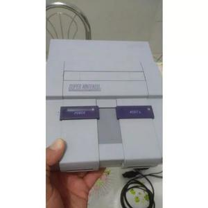 Super nintendo completo 2 controles originais e mario world