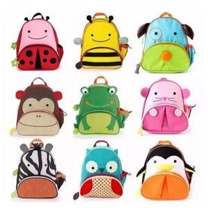 20 x mochila infantil animais zoo bebe kids bichinho
