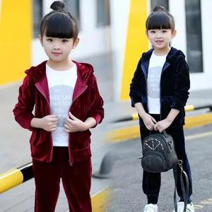 Agasalho menina conjunto infantil criança
