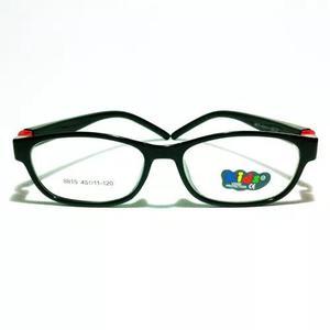 Armação colorida infantil criança óculos lentes de grau