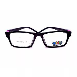 Armação de óculos infantil criança lentes transparentes