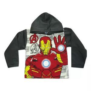 Blusa Casaco Moletom Super Heroi Personagens Menino Infantil
