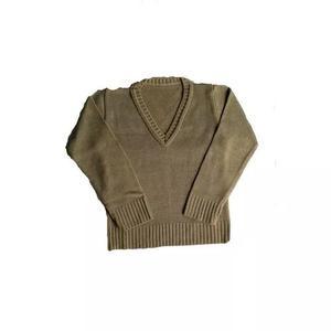 Blusa decote v escolar sueter agasalho menino menina ref.016