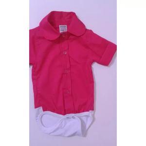 Body camisa bebe menina/menino manga curta - promocao tam p