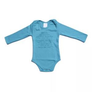Body frases roupas de bebe enxoval rec