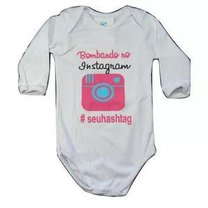 Body instagram roupa bebe menina rec