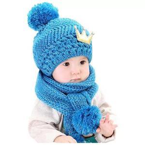 Cachecol touca chapéu inverno lã para criança infantil acb8bafb5b1