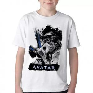 Camiseta blusa criança infantil avatar filme jame jake