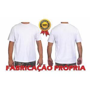 Camisetas 100% algodão 30.1 malha penteada kit 5 peças 1647a2be265