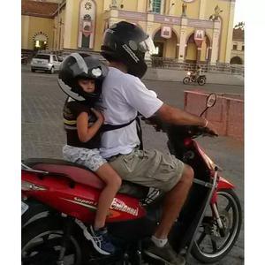 Colete de segurança pra andar com criança na moto