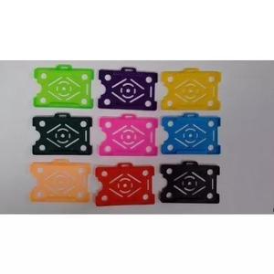 Cordao cracha clips garra jacare porta cracha 108 kits