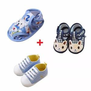 Frete Grátis 3 Sapato Bebê Criança Recém Nascido