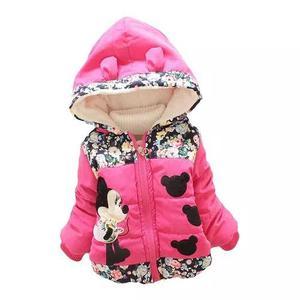 Jaqueta infantil menina agasalho minnie criança blusa