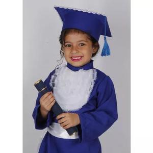 69d27d2f9d Kit 10 becas p/ formatura infantil capeloe e canudo $ 729,00