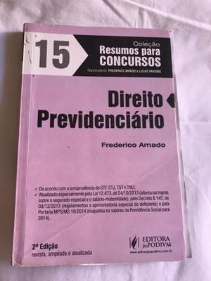 Livro direito previdenciário 2a e 3a edição