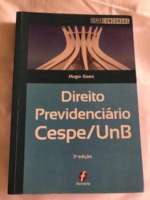 Livro de direito previdenciário cespe unb 3a edição