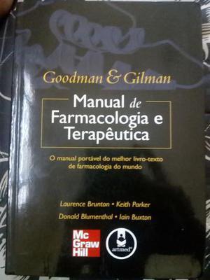 Manual de farmacologia e terapêutica goodman e gilman