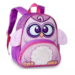 Mochila bolsa escolar infantil criança menino animais mi001