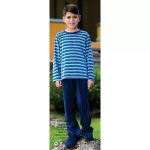 9ccf5ffdeb509c Pijama Infantil Criança Longo Menino Inverno Plush 1445
