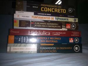 Qualquer livro de engenharia civil por 100 reais