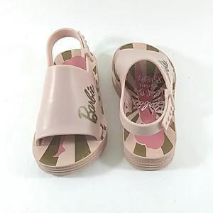 Sandália Infantil Da Barbie De Criança Menina