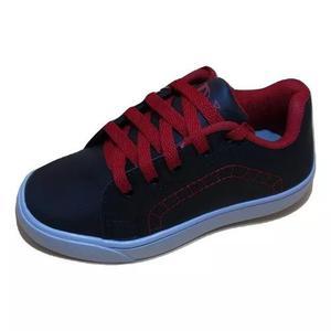 Sapato crianca tenis vermelho 13% off + brinde