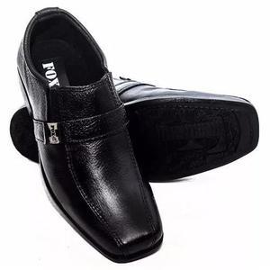Sapato social masculino couro infantil crianca
